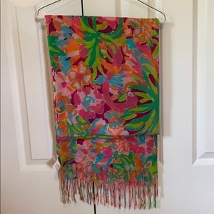 Lilly Pulitzer multicolor scarf